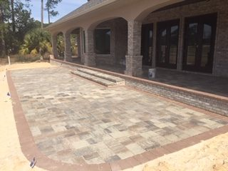 Paver Patios And Stairs Delta Pavers Pavers Retaining Walls