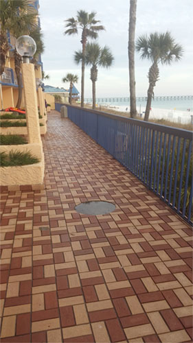 Paver Walkway in Panama City Beach